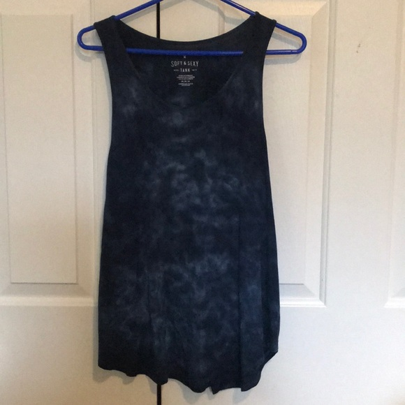 American Eagle Outfitters Tops - Blue tank top